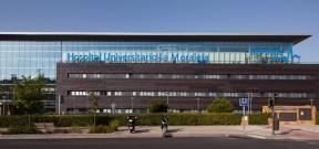 Hospital Universitario Sanitas La Moraleja, exterior.