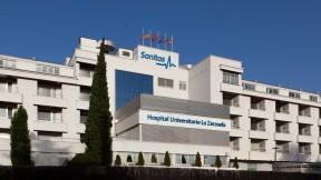Hospital Universitario Sanitas La Zarzuela, exterior.