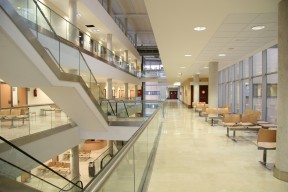 Hospital Universitario Sanitas La Moraleja, interior