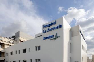 Hospital Sanitas La Zarzuela, exterior