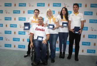 Miembros del Equipo paralímpico Español