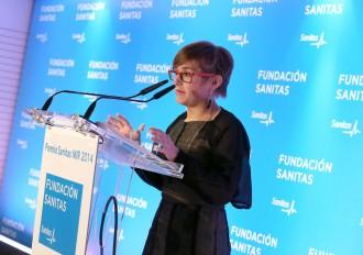 Carmen Olmos, ganadora del premio Sanitas MIR 2014