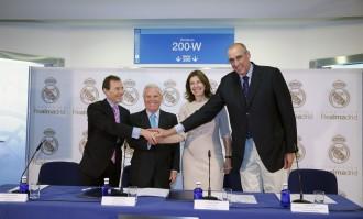 De izquierda a derecha, Emilio Butrageño, Enrique Sánchez, Yolanda Erburu y Rafa Rullán