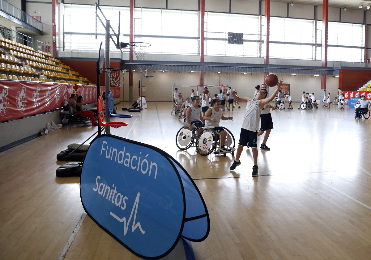 CAMPUS INCLUSIVO BALONCESTOS FUNDACION Y SANITAS 1