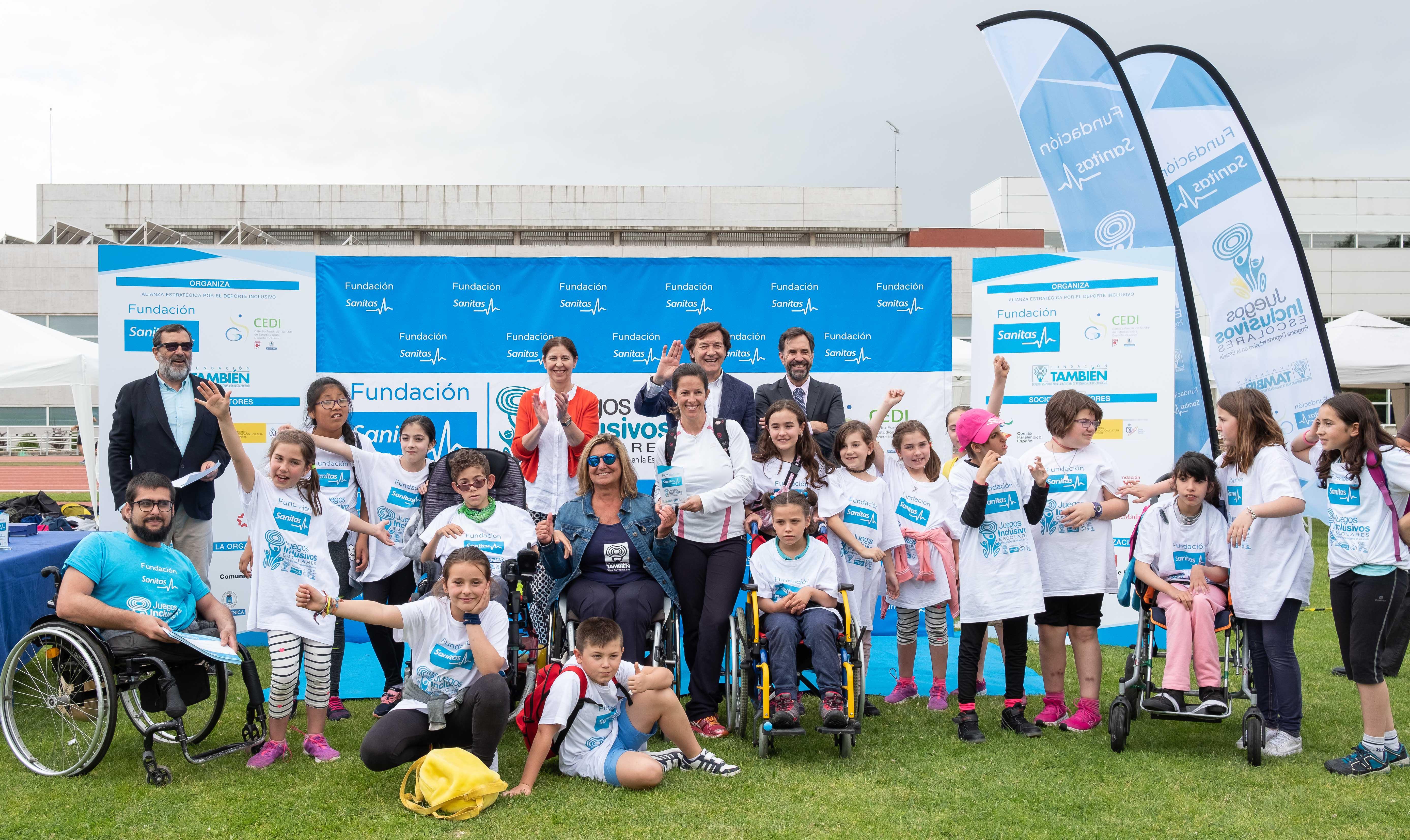 Juegos inclusivos escolares-Fundación Sanitas
