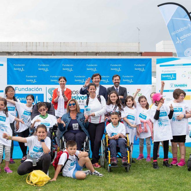 Juegos inclusivos escolares Fundación Sanitas