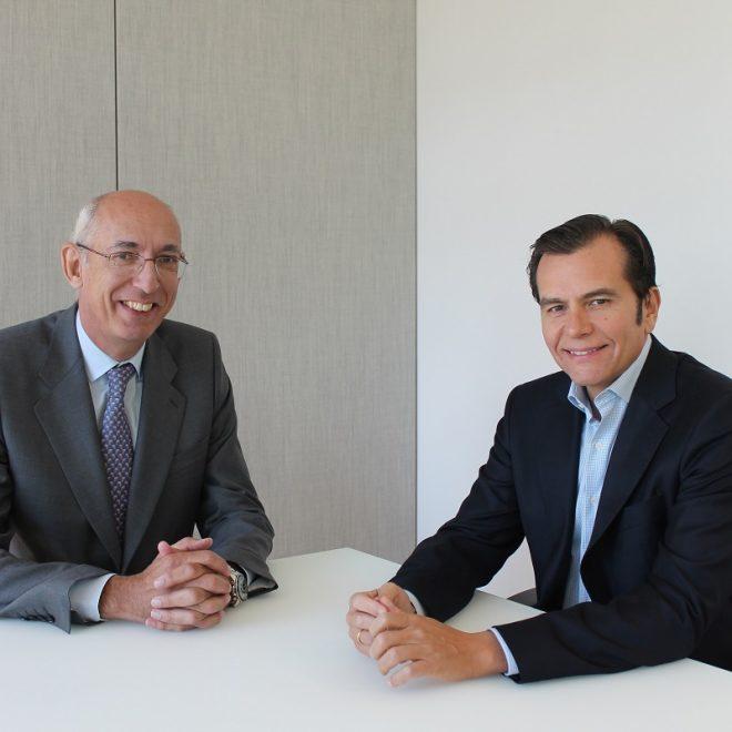 José Luis Gómez Aguirre, director general de HNA e Iñaki Peralta, director general de Sanitas Seguros